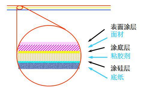 不干胶材料结构