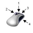 鼠标快捷键