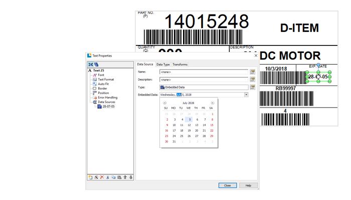bartender_动态标签数据